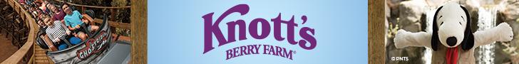 Knott's Berry Farms 728 x 90