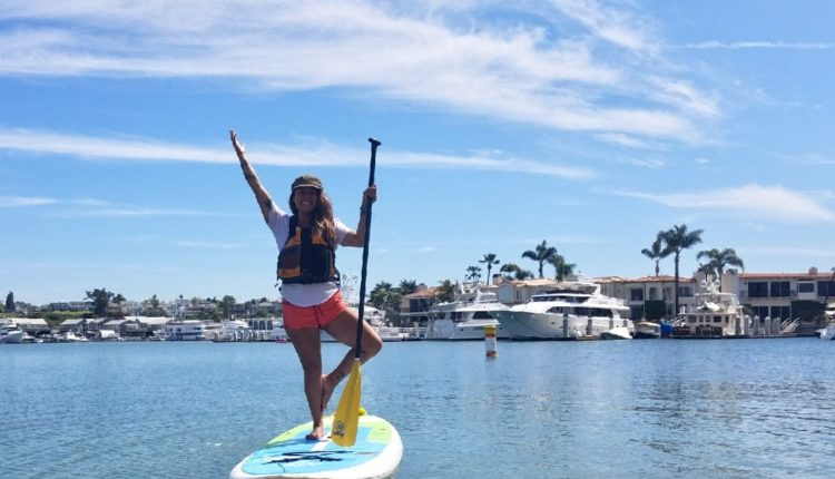 Paddle-board in Orange County