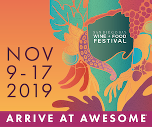 San Diego Bay Wine & Food Festival 2019 300 x 250