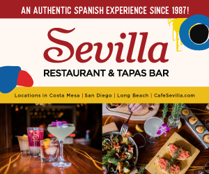 Cafe Sevilla 2020 300 x 250 generic banner ad