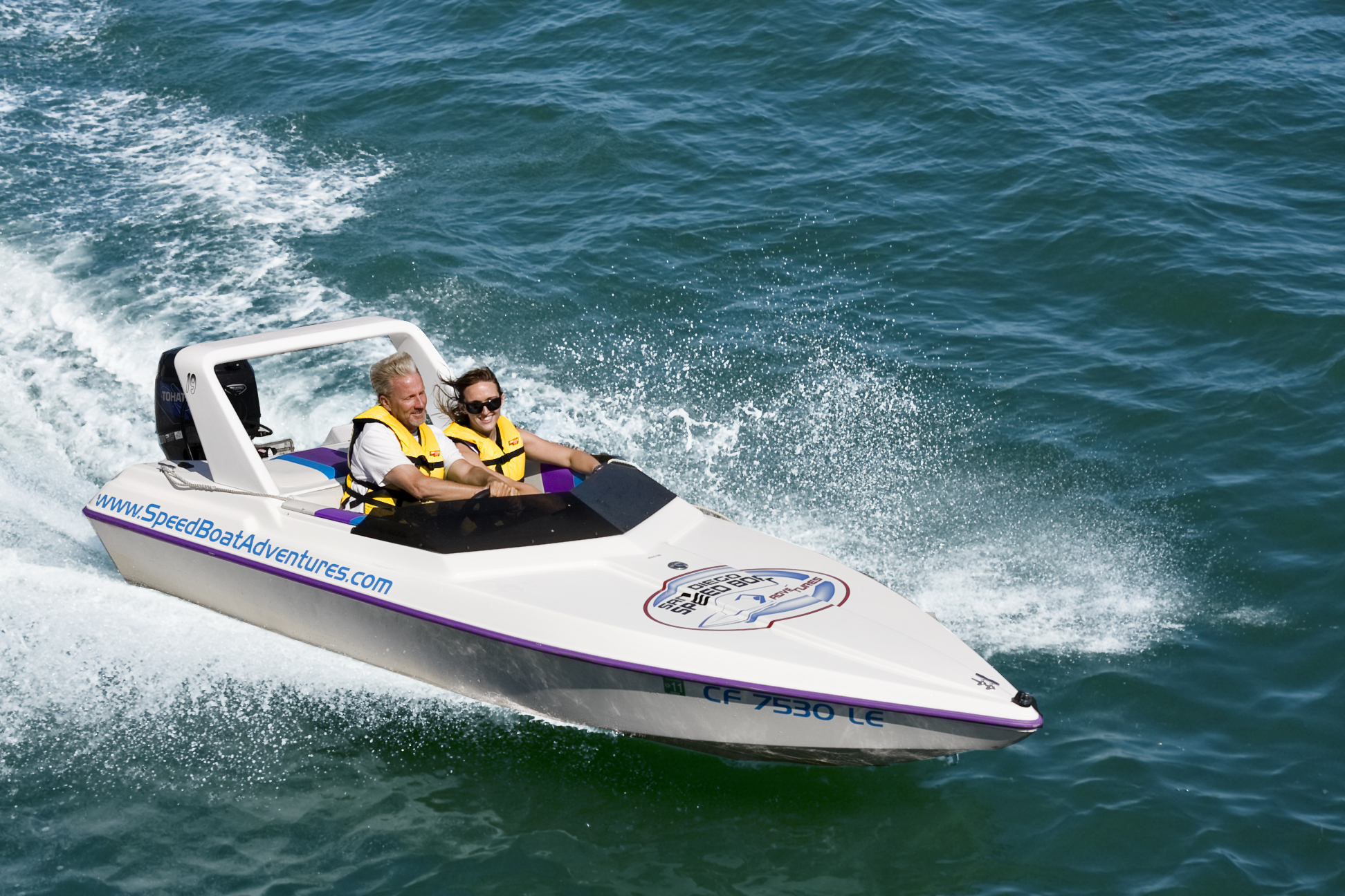Experience the adventure of a lifetime on a Speed Boat Adventure Tour! ***** Rated