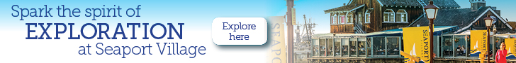 Seaport Village Banner Ad 2017 728 x 90