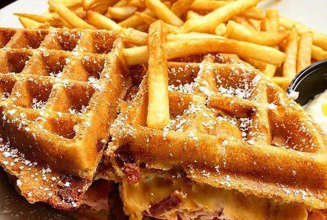 Brians Waffle Sandwhich
