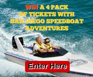 San Diego Speedboat Contest Giveaway March 2018