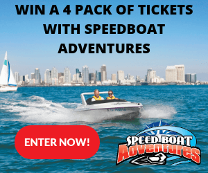 San Diego Speedboat Contest Giveaway March 2018