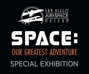 San Diego Air & Space 2019 SPACE 300 x 250