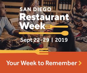San Diego Restaurant Week 2019