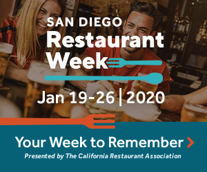 San Diego Restaurant Week 2020 300 x 250