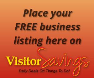 Visitor Savings FREE Listing