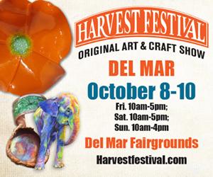Harvest Festival Del Mar 2021 300 x 250 Banner