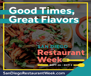San Diego Restaurant Week 2021 – 300 x 250 New